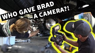 Brad... Films? His Last Minute Trans Install For Build & Battle!