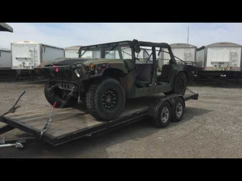 Picking Up My Govplanet Humvee