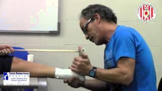 vendaje funcional del tobillo