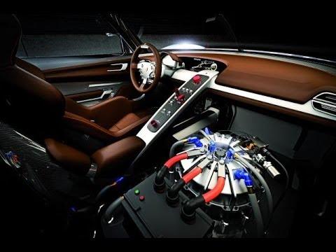 porsche 918 awesome interior design