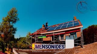 Zonnepanelen installatie met SolardEdge Power optimizers - Mensonides Harlingen (Friesland)