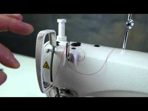 How to Thread a Juki DDL-8700 Industrial Sewing Machine