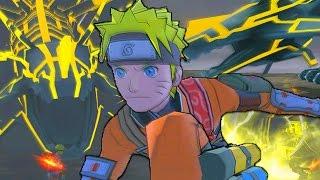 LIGHTNING DRAGON BOSS | Naruto Shippuden: Dragon Blade Chronicles - Walkthrough Part 9, Gameplay Wii
