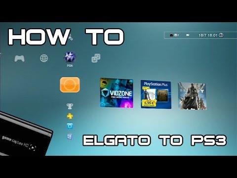 How To [HD] ★ PS3 an Elgato game capture HD anschließen [Deutsch/German]