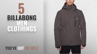 Top 10 Billabong Men Clothings [ Winter 2018 ]: Billabong Men's All Day Snowboard Jacket, Dark Grey,