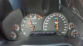 C5 Z06 TACH AND AUDIO