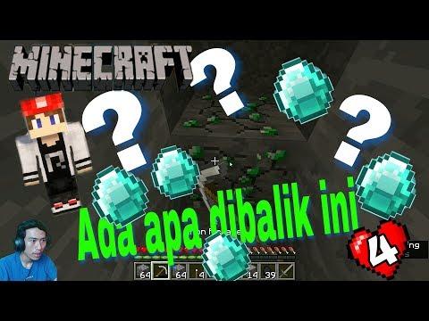 Minecraft Survival Indonesia - MINING PERTAMA NYARI DIAMOND HASILNYA GIMANA YA? (4)
