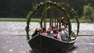Midsommarafton Forsa Forngård Fränö Hälsingland