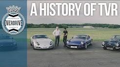 The history of TVR in 4 cars