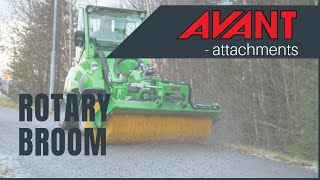 Rotary broom, Avant 300-700 Series attachment Thumbnail