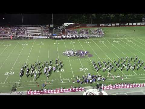 Sevier County High School Band at Dobyns Bennett 2018