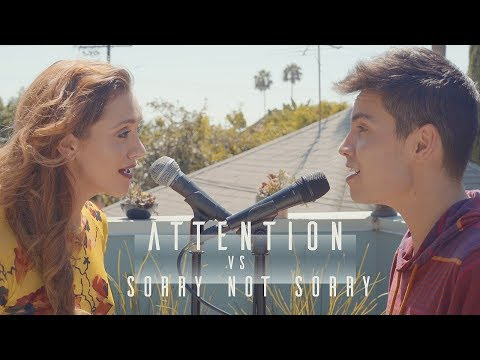 Attention vs. Sorry Not Sorry (Charlie...