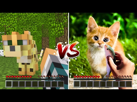 MINECRAFT vs VIDA REAL #04 - ( Minecraft vs Real Life )