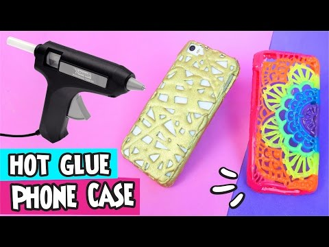 Thumbnail: DIY ★ Hot Glue Phone Case ★ Step by Step Easy DIY Crafts