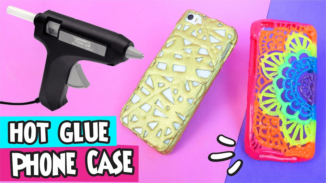 How to make a phone case without hot glue