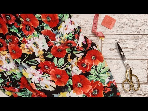 Ткань Штапель принт в магазине Текстилия