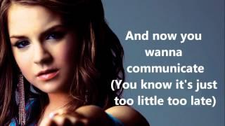 JoJo - Too Little, Too Late (Lyrics On Screen)