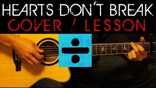 ➗ HEARTS DON'T BREAK AROUND HERE - Ed Sheeran Cover 🎸 Easy Acoustic Guitar Tutorial Lesson Round