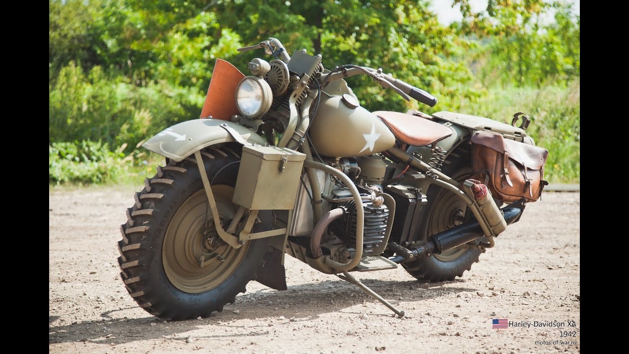 Мото обзор - Harley-Davidson XA (moto review)