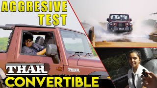 Thar Convertible Petro l Automatic Off-road testing - Ultimate Fun with Mahindra THAR 🔥