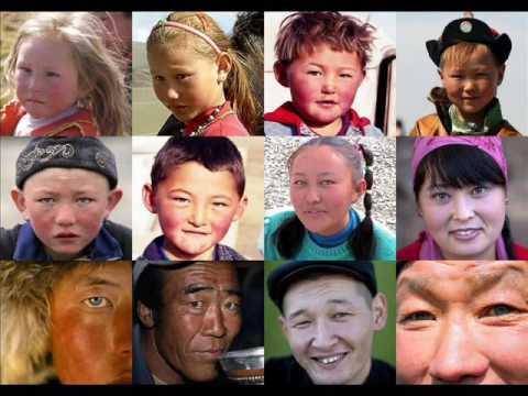 Mongols (Light Skin Euro-Asian Warriors)