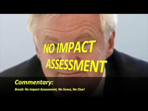 David Davis on Brexit: No Impact Assessment