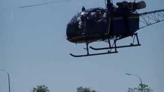 Décollage hélicoptère Alouette II