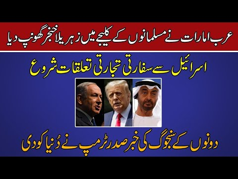 Joint statement of USA,UAE and Israel- Tariq Ismail Sagar 13 aug 2020