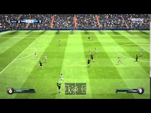 Amazing goal Pogba FIFA 16
