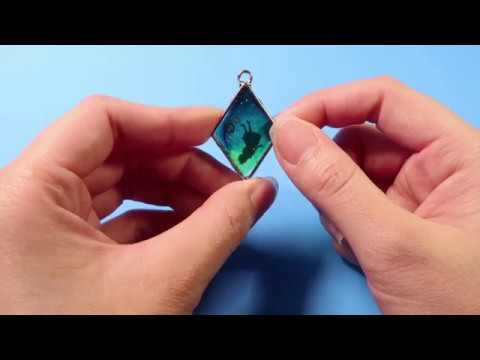 DIY Resin Jewelry | How To Make a Jewelry Alice Necklace | Full Tutor Video