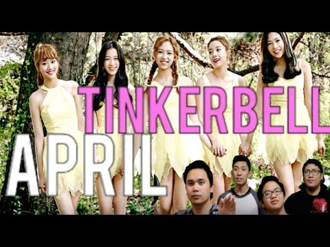APRIL | TINKERBELL MV Reaction [4LadsReact]