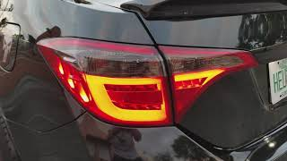 2014-2018 Corolla LED Tail Lights.