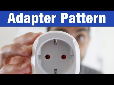 Adapter Pattern – Design Patterns (ep 8)