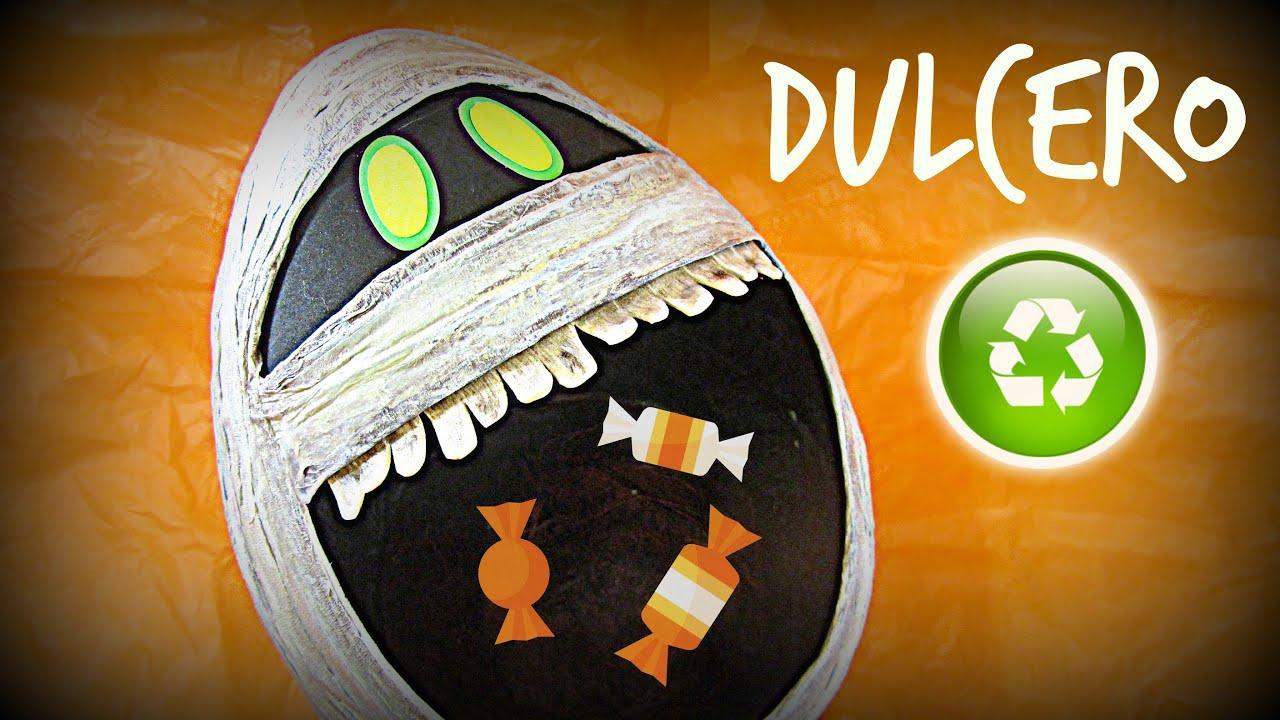 Manualidades para halloween dulcero hotel transilvania 2 - Fiesta de halloween infantil ...