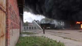 Pożar stodoły w CHEŁKOWIE