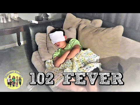 SICK WITH A HIGH FEVER | CAUGHT DAD'S FEVER AND SICKNESS BUG | PHILLIPS FamBam Vlogs