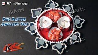 Diy How To: Decorate Ring Platter / Wedding Tray - Jk Arts 537