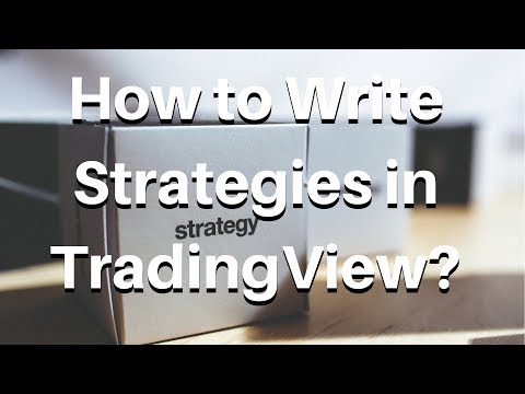 How To Write Strategies In TradingView?