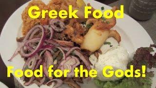 Eating Greek - Food For The Gods