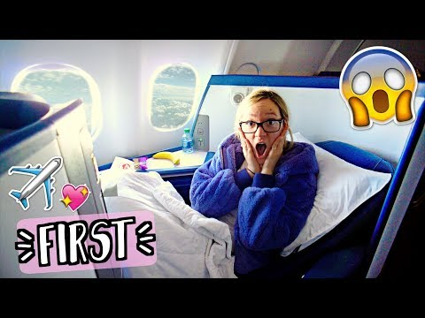 Upgraded to First Class for FREE!! AlishaMarieVlogs