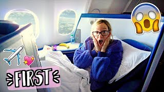 Upgraded to First Class for FREE!! AlishaMarieVlogs thumbnail