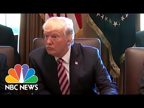 Cabinet Members Praise President Donald Trump And Discuss Their Work   NBC News