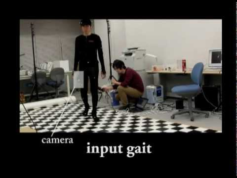 Human Gait Estimation Using a Wearable Camera