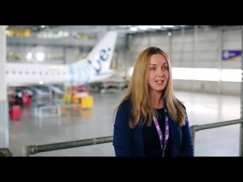 Pipeline of female talent in aviation