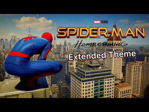 Swinging In The Homecoming Suit With The Spider-Man Homecoming Extended Theme