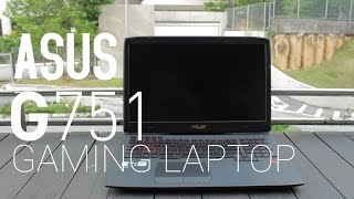 Asus G751JT Hands On