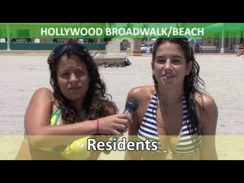 Interviews with Fort Lauderdale tourists