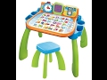 v-tech activity table review  with Baby Girl Alaina