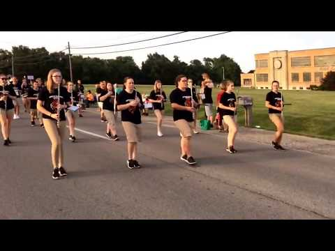 Du Quoin High School Band ~ Du Quoin State Fair 2017 Twilight Parade