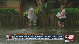 Tropical Storm Colin: St. Pete Beach homes and roads heavily flooded by rain